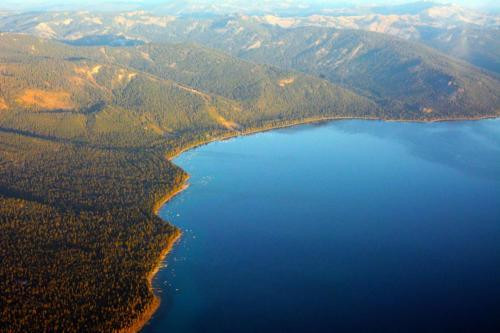 North Lake Tahoe Aerial photo D Ramey Logan