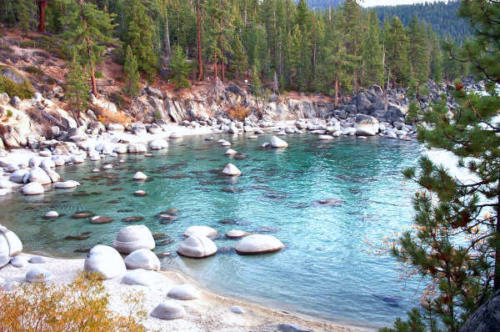 Secret Beach - Lake Tahoe East Shore