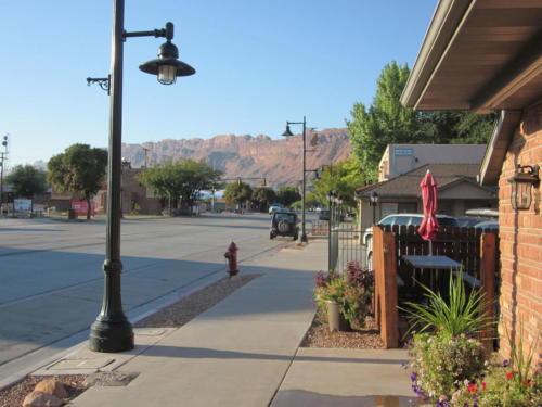 Moab Utah looking south