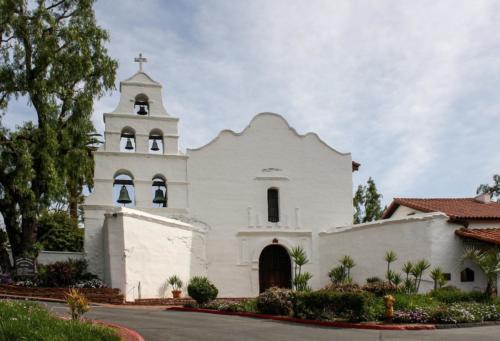 Mission San Diego de Alcalá - church