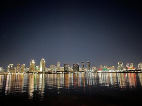 San Diego Night Time Skyline