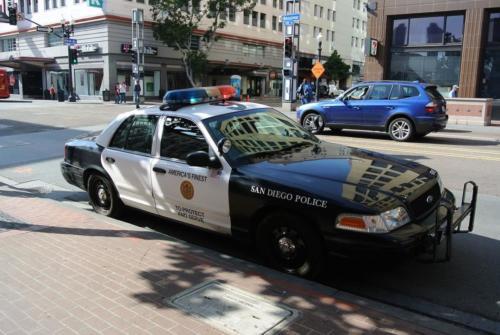 San Diego Police Department car