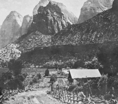 Crawford ranch in Zion Canyon