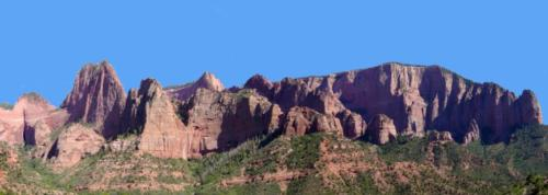 Kolob Canyons midway through Kolob Canyons Road