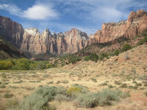 Zion Canyon Temples and Towers